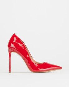 Steve Madden Vala Dress Heels Red