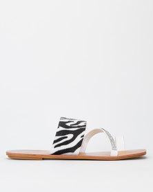 Dolce Vita Native Sandals White