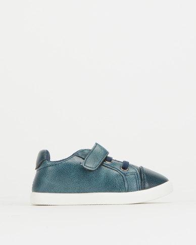 Pierre Cardin Infants Denim Sneakers Blue