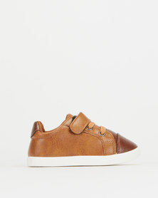 Pierre Cardin Infants Sneakers Tan/Brown