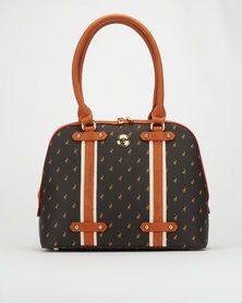 Polo Dome Heritage Pony Bag Brown