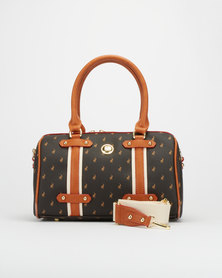 Polo Barrel Heritage Pony Bag Brown