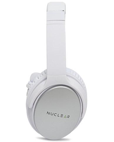 Nuclear Wireless Headphones White