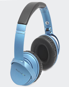 Nuclear Wireless Headphones Blue
