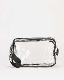 You & I Small Men's Toiletry Bag Clear
