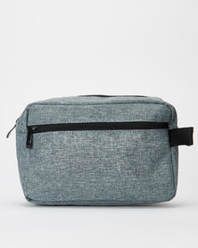 You & I Mens Toiletry Bag Grey Melange