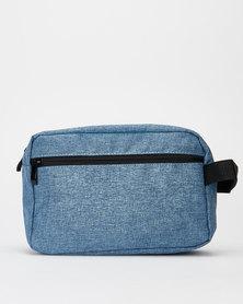You & I Melange Mens Toiletry Bag Blue