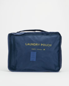 You & I Happy Set Of 6 Packing Solutions Navy