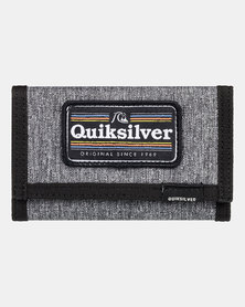 Quiksilver Boys The Everydaily Patch Wallet Grey