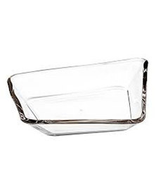 Leonardo Clear Glass Bowl Panarea 34 cm