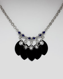 Apparition Lady Mortis Scalemaille Necklace - Black
