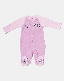 Converse Light Artic Pink Heather Retro Spt Fotted Coverall