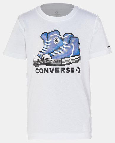Converse Pixel Chuck 2.0 Tee White
