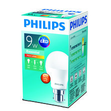 PHILIPS 9W Bayonet Cap LED - Warm White - Pack of 12