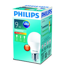PHILIPS 9W 27mm Edison Screw LED - Warm White - Pack of 12
