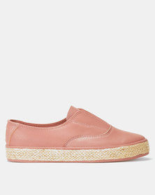 Crouch KG Floater Slip Ons Deep Pink