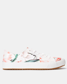 Crouch KG Floral Sneakers Mint