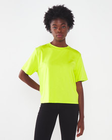 Paige Smith Knot Back T-shirt Lime