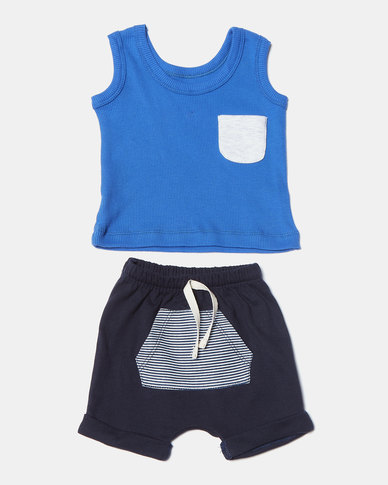 Creative Design Basic Sailor Set Blue