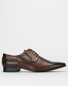 Gino Paoli Formal Lace Up Shoes Brown