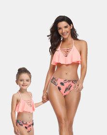 Iconix Sexy Swimsuit - Peach