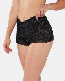 Yarin Amram Luna Criss-cross Underwear Black