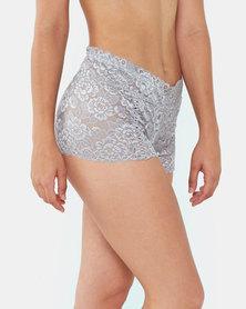 Yarin Amram Luna Criss-cross Underwear Grey