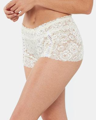 Yarin Amram Luna Criss-cross Underwear Ivory