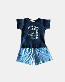 Cotton Club Kids Roarsome Summer Pyjama Set