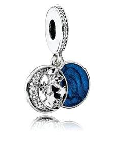 JDAccessoriez Sterling Silver Star & Moon DIY Charm