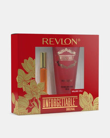 Revlon Unforgettable Small Gift Set 17ml Eau De Toilette/150ml Body Lotion