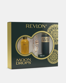 Revlon Moondrops Original Deluxe Pack 50ml Eau De Toilette/90ml PBS/Bracelet