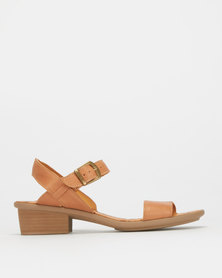 Tsonga Leather Strap Sandals Neutral