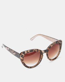 Queenspark Animal Print Sunglasses Multicoloured