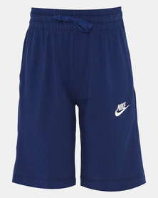 Nike B NSW Jersey AA Shorts Blue Void