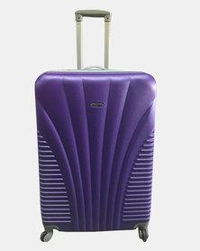 HappyDeals-3 Pcs Luggage Set-Purple