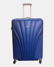 HappyDeals- 3 Pcs Luggage Set-Blue