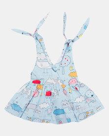 Kapas Farm Yard Lilly Dress Multi