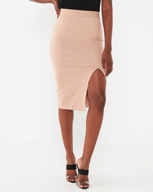 Sissy Boy Boity Twin Set Midi Skirt Cappuccino