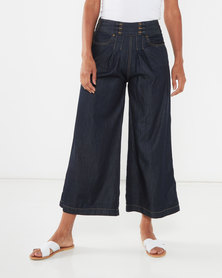 Utopia Wide Leg Jeans Dark Wash