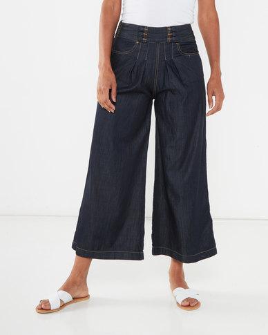 Utopia Wide Leg Jeans Dark Wash