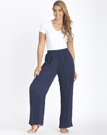 Contempo Ghost Voile Pants Navy