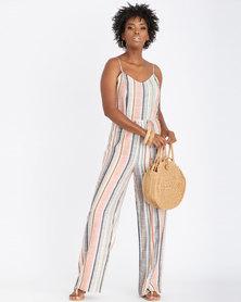 Contempo Stripe Jumpsuit Multi