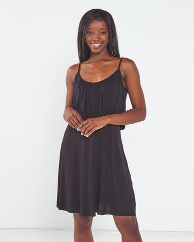 Nucleus Frill & Flare Dress Black