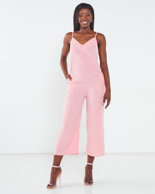 Nucleus Simple Jumpsuit Peach