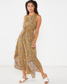Revenge Maxi Dress Yellow