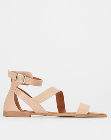 Madison Bridget Strappy Sandals Nude