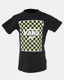 Vans KIids Print Box Checkerboard T-shirt Black