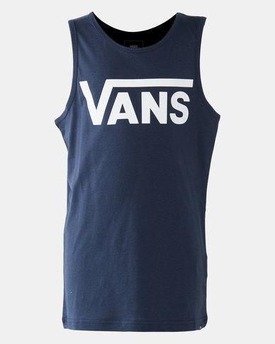 Vans Boys Classic Vest Blue/White