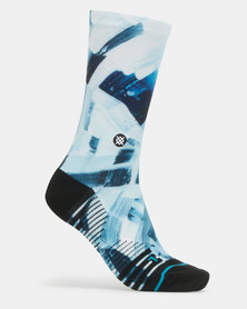 Stance Performance Higher Places Crew Socks Multi